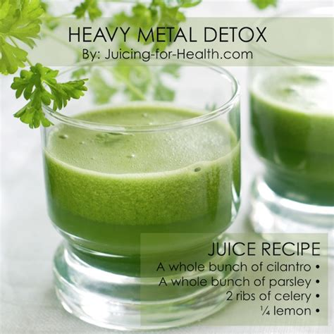 Best Foods For Detoxing Heavy Metals by Pretty Juice Recipes Juicing For Health