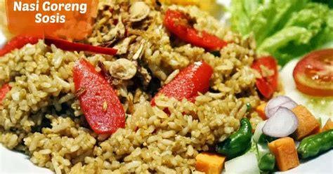 membuat nasi goreng enak sederhana resep asyik resep membuat nasi goreng sosis enak mudah