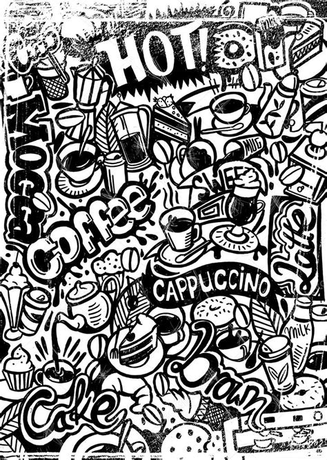 doodle coffee coffee doodle stock vector 169 mixformdesign 56617877