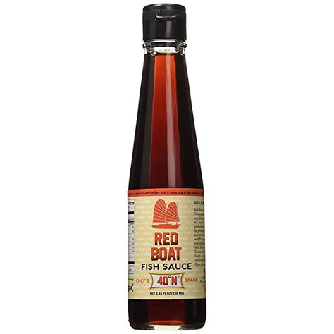 red boat vietnamese extra virgin fish sauce bottle 8 45 - Red Boat Vietnamese Extra Virgin Fish Sauce Bottle 8 45 Ounce