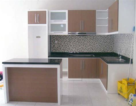 Lemari Dapur Dinding desain dapur minimalis terbuka paling keren 2017 rumah 11