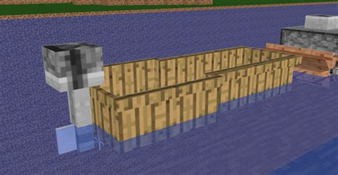 minecraft inflatable boat think of a general shape and size of the ship you want and