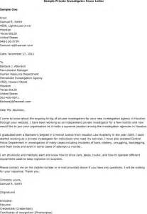 Research Investigator Sle Resume by Detective Cover Letters