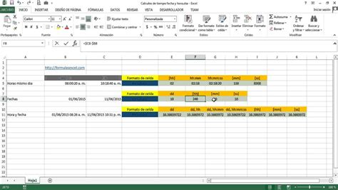 formato horas extras calcular tiempo entre horas y fechas en excel youtube