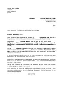 Lettre De Motivation Candidature Spontanée A La Mairie Lettre De Motivation Association Le Dif En Questions