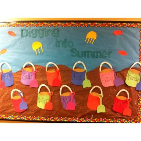 summer ideas for preschool classroom summer bulletin