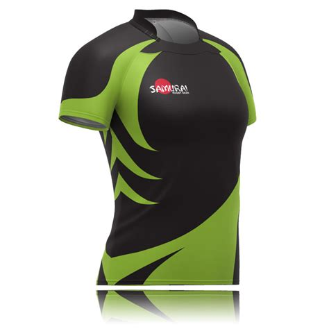 Design T Shirt Rugby | women s sublimated rugby shirt design 9114 samurai