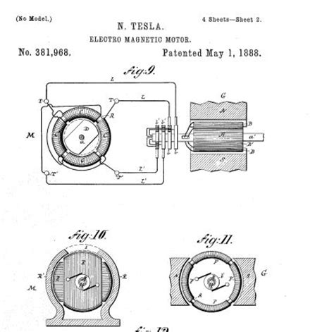 Tesla Ac Motor Design Tesla And His Induction Motor