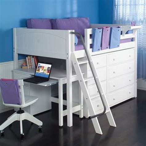loft bed with desk for low ceiling 30 cool loft beds for small rooms
