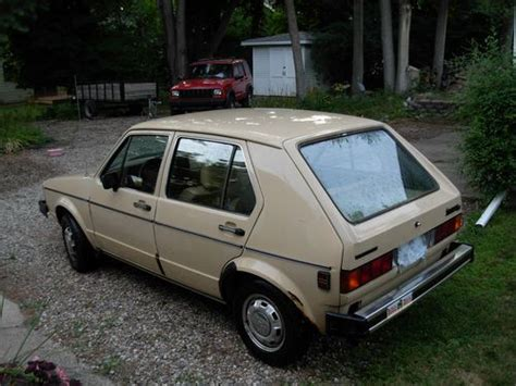 how petrol cars work 1984 volkswagen golf lane departure warning sell used 1983 volkswagen rabbit ls hatchback 4 door diesel in chelsea michigan united states