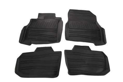 Nissan Leaf Floor Mats by Genuine Nissan All Season Floor Mats Black 2012