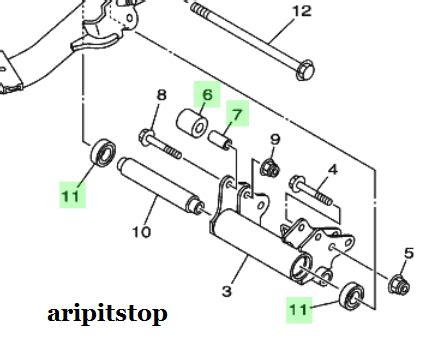 Karet Engine Mounting Mio Motor Matic Terasa Goyang Saat Jalan Cek Kondisi Karet