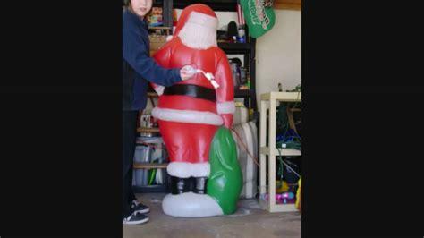 five foot santa claus 5 foot santa claus blowmold