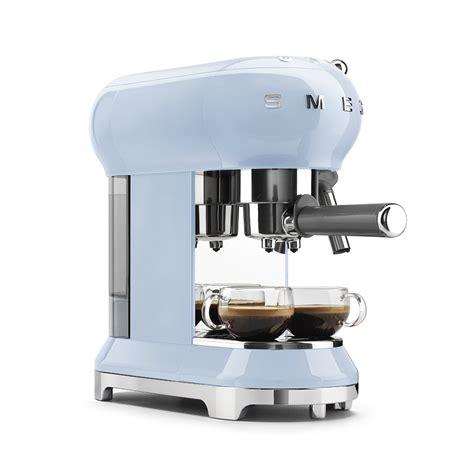 Small Espresso Machine For Home Espresso Coffee Machine Ecf01pbeu Smeg