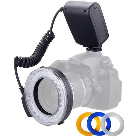 ring light flash canon polaroid macro led ring flash for sony minolta cameras plmrfs