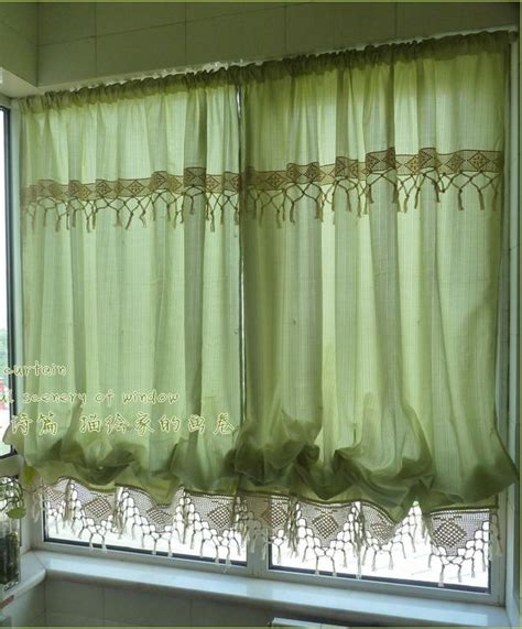 pull up drapes french country blue pink sheer pull up balloon austrian