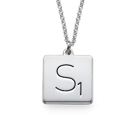 scrabble necklace the mynamenecklace introducing the scrabble necklace