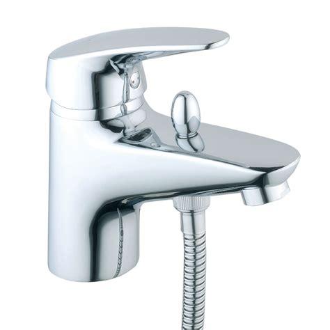 monobloc bath shower mixer vitra armix v3 monobloc bath shower mixer with kit chrome 40450 at plumbing uk