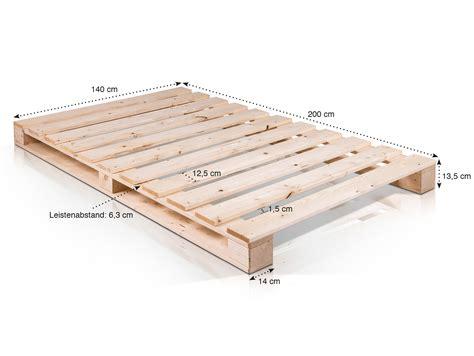 matratzenbezug 140x200 kaufen paletti massivholzbett aus paletten 140 x 200 cm fichte