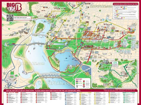 washington dc map of attractions washington dc must see map
