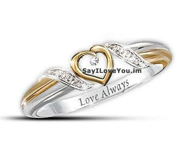 of personalized promise ring http