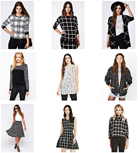 grid pattern fashion ootd grid pattern the classified chic
