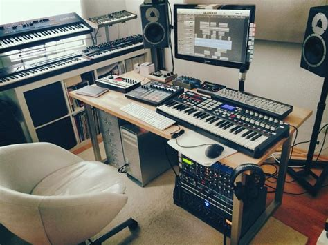 bedroom music studio setup home recording studio tumblr studio life pinterest