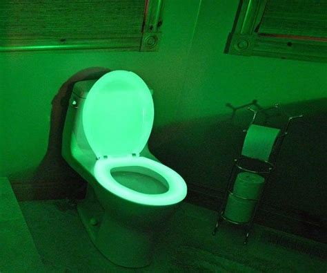 who invented the bathroom somebody actually invented glow in the dark toilet seats