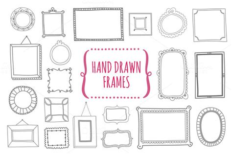 Wall Sticker Frames photoshop frame templates to enrich your creative flow