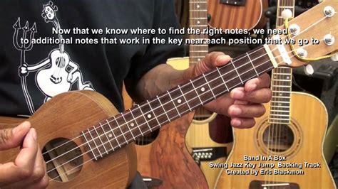 lessons jazz ukulele how to play your very first jazz solo on ukulele tutorial