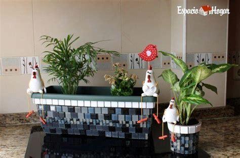 como decorar unas jardineras c 243 mo decorar tus macetas con mallas de cer 225 mica