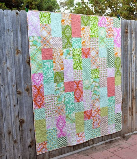 Quarter Quilting by 15 Free Quilt Patterns That Use Precuts Simple Simon