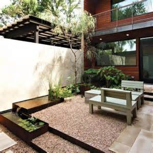 Courtyard Landscape by 27 Calm Japanese Inspired Courtyard Ideas Digsdigs