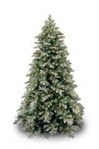 9ft frosted colorado spruce feel real artificial christmas