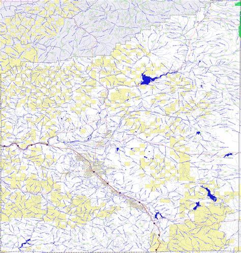 map of jackson county oregon landmarkhunter jackson county oregon