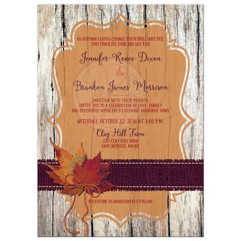 Orange Wedding Invitations by Wedding Invitations Purple And Orange Custom Invitations