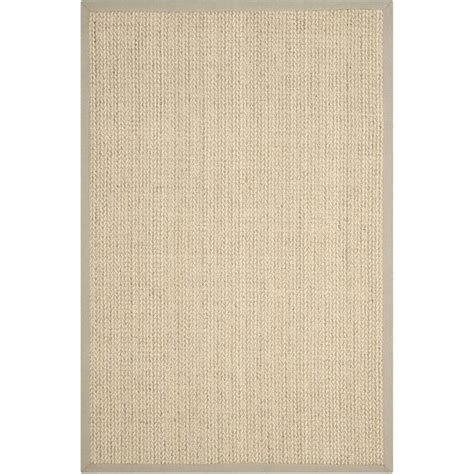 Fiber Area Rugs by Safavieh Fiber Light Grey Area Rug 4 X 6