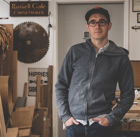 shop interview russell gale popular woodworking magazine