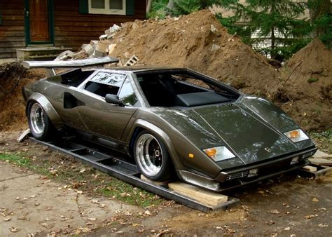 Builds Lamborghini In Basement Builds A Lamborghini In His Basement Cool Material