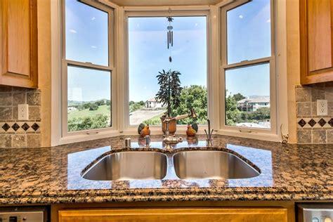 Kitchen Sink Bay Window Kitchen Kitchen Bay Window Sink With Two Dishwashers