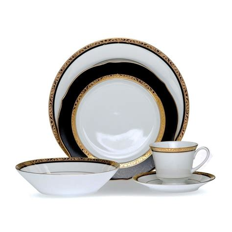 dinner set noritake regent gold dinner set 12 place best price