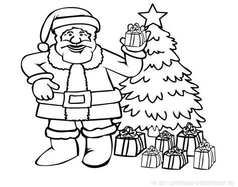 blank santa coloring page coloriage pere noel les beaux dessins de f 234 tes 224