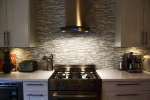 Creative Ideas For Small Bathrooms by Glass And Marble Mosaic Tile Backsplash Contemporary