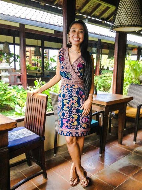 Dress Tenun Bali 84 best images about tenun woven on