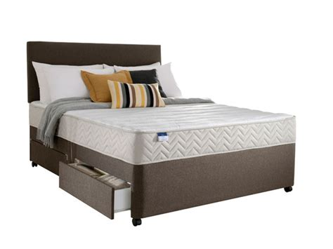 Bandq Bedroom Furniture 4ft Small Silentnight Select Collection Divan Set From The Sleep Shop