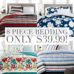 King Size Bed Set Macys Macy S 8 Bedding Sets Only 39 99 Up To California