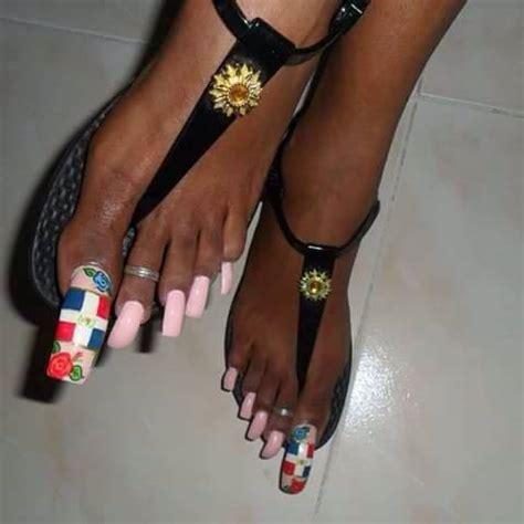 fotos de uñas acrilicas largas u 241 as largas de los pies muy maquilladas fotos de la