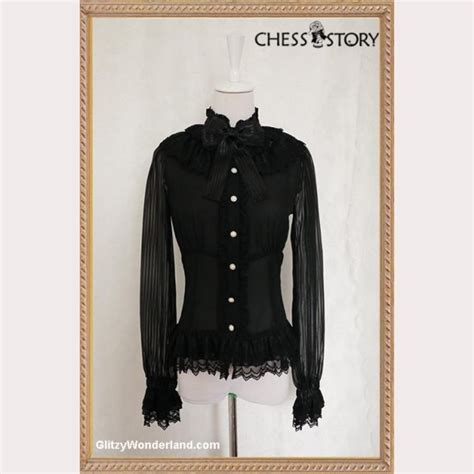 Blouse Cat Story chess story quot doll theater blouse