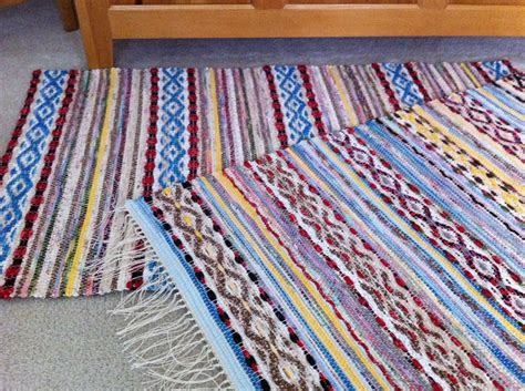 How To Make Woven Rag Rugs by Friday Rag Rugs Warped For