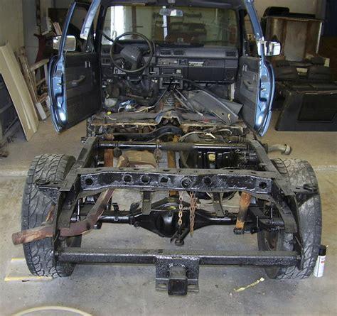 Toyota Frame toyota 4runner frame